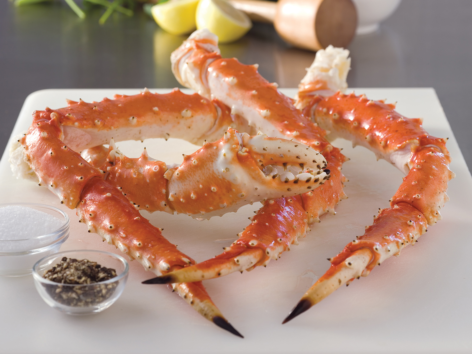 """Red King Crab Legs & Claws 9-12 Count, Grade """"A"""" Equiv (1/20) 400020"""