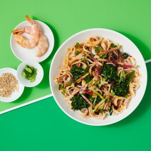 10g Protein Noodles™ Bowl with Charred Broccolini and Chili Crisp