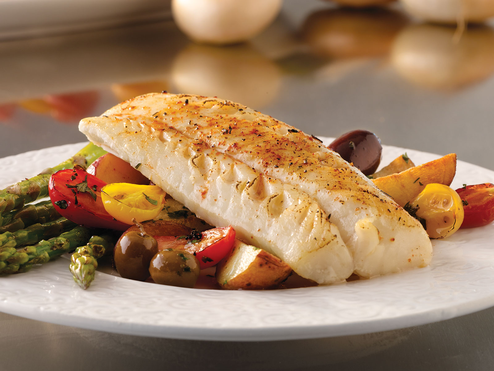 Pacific Cod Loin Portions 4 oz IQF, Skinless, Boneless (1/10 lb) 493007