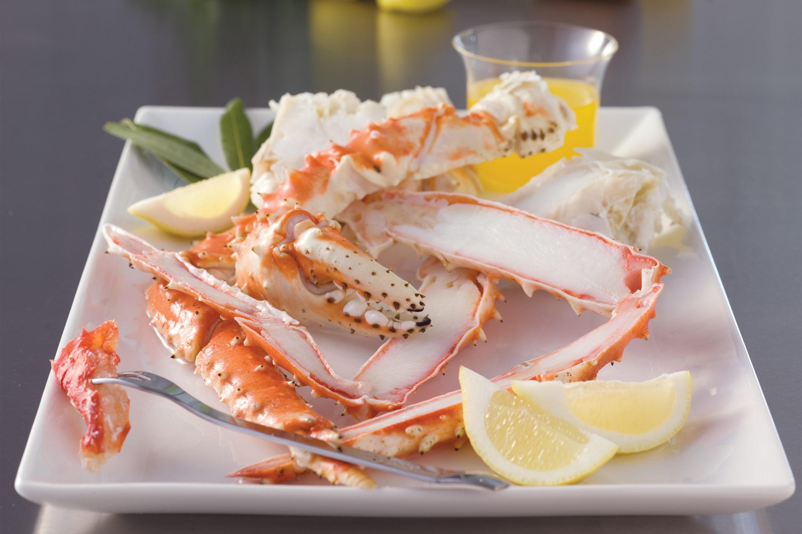 King Crab Split Claws & Arms 10 lbs 491497