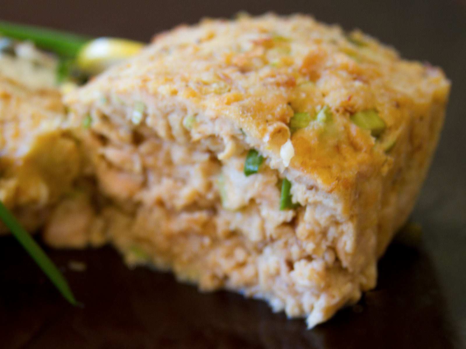 Flaked Salmon Loaf